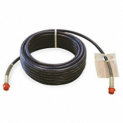 Paint Spray Hose, 1/4 IDx0.5 In ODx50 Ft