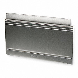 Aluminum Drawer Divider, 5x8 In, PK 12