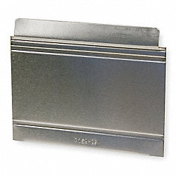 Aluminum Drawer Divider, 5x6 In, PK 12