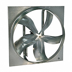 Exhaust Fan, 60 In, 3 HP, 208-230/460 V