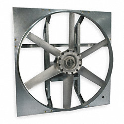 Exhaust Fan, 48 In, 3 HP, 208-230/460 V
