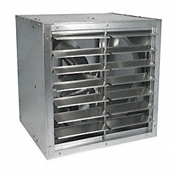 Cabinet Exhaust Fan, 24 In, 208-230/460 V