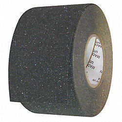 Antislip Tape, Flat Black, 6 In x 60 ft.