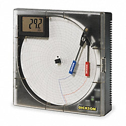Chart Recorder, Temp and Humidity, NIST