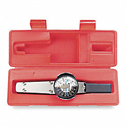 Dial Torque Wrench, 600 in.-lb., 3/8 In Dr