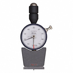 Analog Durometer, Shore A, 1.73 x 0.71 In