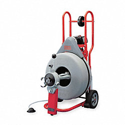 Drain Cleaning Machine, 3/4 x 100Ft
