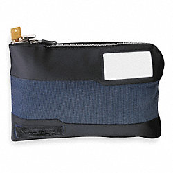 Locking Security Bag, 8-5/8x10x1-7/8