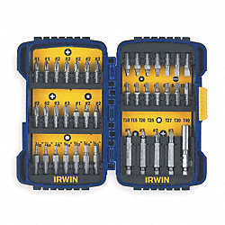 Fastener Drive Set, Size 1/4 In, 40 Pc