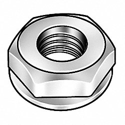 Locknut, ConicalWshr, 10-32, Pk10, 000