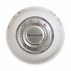 Low V Thermostat, 1H, 1C, Hg Free, White