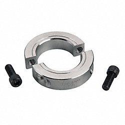 Shaft Collar, Two Piece Clamp, ID 1.750 In