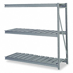 Bulk Storage Rack, Add On, W 96, D 48, H 120