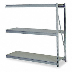 Bulk Storage Rack, Add On, W 96, D 24, H 96