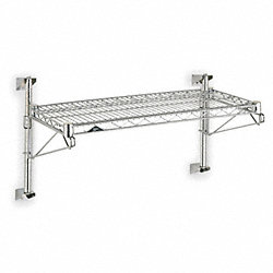 Industrial Wall Shelving, 48 In. W