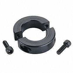 Shaft Collar, Two Piece Clamp, ID 1.438 In