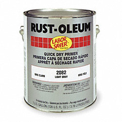 Rust Inhibitive Primer, Light Gray, 1 gal.
