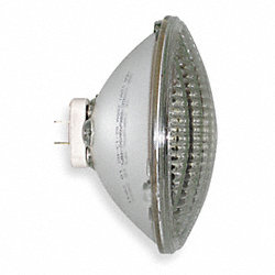 Incand Sealed Beam Floodlight, PAR56, 200W