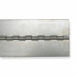 Hinge, Aluminum Alloy, 3 Ft. x 1 In.