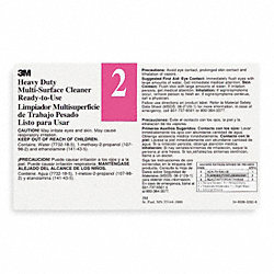 Secondary Label, Black, Pink/White, PK 12