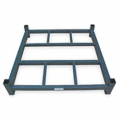 Stack Rack Base, Open, 42x60 in., 2000 lb.
