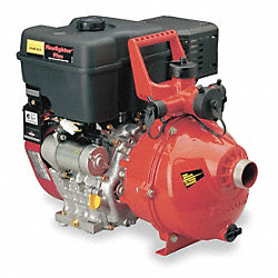 Fire Fighting Pump, 9 HP, B & S, Aluminum