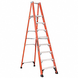 Platform Stepladder, 10 ft. H, 16 In. W