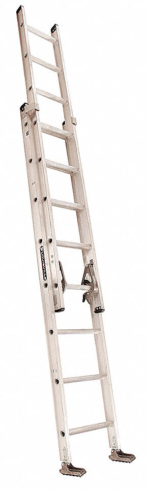 LOUISVILLE Extension Ladder, Aluminum, 16 ft., IA by Louisville AE2216 at Sears.com