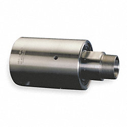 Rotary Union, 1/2 In NPT, Stainless Steel