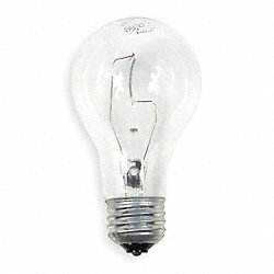 Incandescent Light Bulb, A19, 40/36W