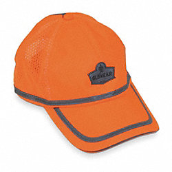 Baseball Hat, Hi-Vis Orange, Universal