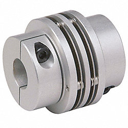Coupling, Mini Disc, Bore 1x1 In