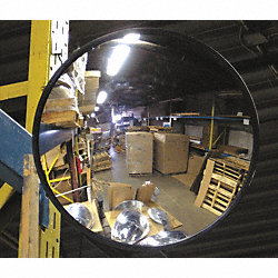 Indoor Convex Mirror, 36 Dia, Glass