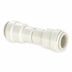 Union Check Valve, 1/2 In, Polysulfone