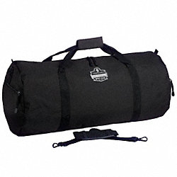 Duffel Bag, Soft-Sided, Polyester, Black