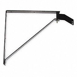 Wall Mount Bracket, Steel, Black