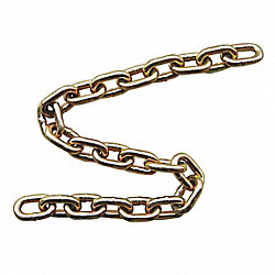Chain, Grade 70, 3/8 Size, 20 ft., 6600 lb.