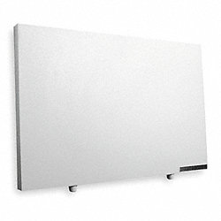 Electric Flat Panel Heater, Radiant, 120V