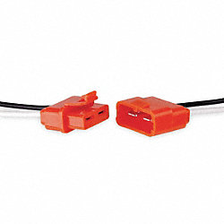 Male/Female Ballast Disconnect, 18AWG, PK2