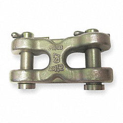 Clevis, Double, 1/4 In, 4700 Lb Cap