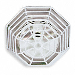 Smoke Detector Guard, Steel Wire, Flush