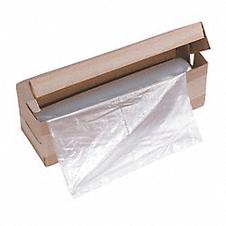 Shredder Bags, 12.7 Gal, PK100
