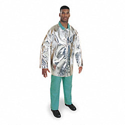 Aluminized Jacket, XL, PFR Rayon