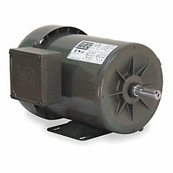 Mtr, 3 Ph, 1 HP, 3450, 208-230/460V, Eff 80.0