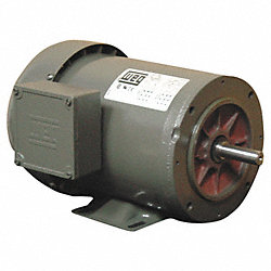 Mtr, 3 Ph, 2 HP, 1730, 208-230/460V, Eff 84.0
