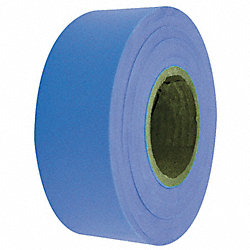 Flagging Tape, Fluorescent Blue, 150 ft
