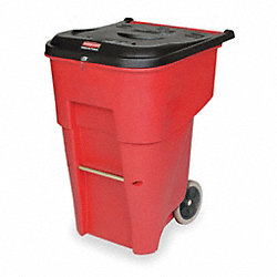 Medical Roll Out Container, 95 G, Red
