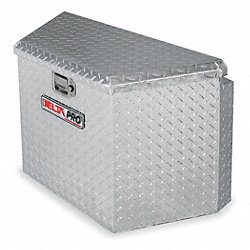 Trailer Tongue Box.33 In, Alum, Silver