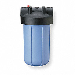 Filter Housing, 1 1/2 In NPT, 1 Cartridge