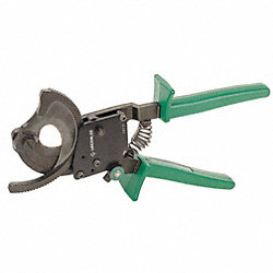 Ratchet Cable Cutter, 10 In